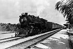 Florida East Coast Railway Engine #442 Southbound at Boca, 1940