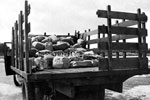 Illegal liquor Siezed Near Boca Raton by Customs Agents, 1934