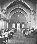 Dining Room of the Cloister Inn, 1928