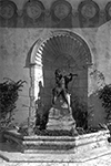 Outdoor Sculpture of Greek God Pan at the Boca Raton Club, 194-