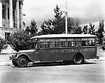 City of Coral Gables Bus, 1930