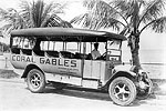 Dammers, Gillette and Burnes Company Bus, 1922