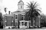 Baker County Courthouse, Macclenny, 1975