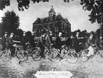 Bicycle Club Riding In Front of the Second Aluchua County Courthouse, Gainesville, 189-