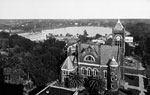 View of Courthouse and Lake Eola, Orlando, 192-