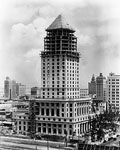 Dade County Courthouse Building Under Construction, Miami, 1927 A