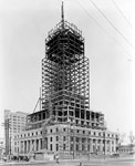 Dade County Courthouse Building Under Construction, Miami, 1927 B