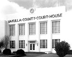 Second Wakulla County Courthouse, Crawfordville, 1976