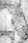 Rand McNally & Co.'s Map of Florida, 1891