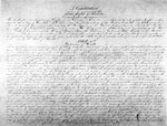 Page 1 of the 1838 Florida Constitution