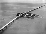 Overseas Highway and Pigeon Key, 1954