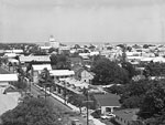 Key West From Top of Lighthouse, 1966