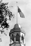 View of the Cupola and Flag, Old Capitol Building, Tallahassee, 19--