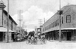 Children on Bicycles at the Corner of Main and Hendry Streets, Fort Myers, 191-