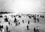Crowds Enjoying the Beach, Seabreeze, 1904