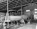 Employees Work on Building a New Boat, West Palm Beach Florida, 1959