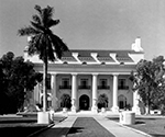 Front view of the Flagler Museum, Palm Beach Florida, 1963