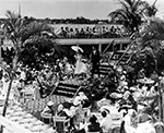 Fashion Show at the Biltmore Hotel, Palm Beach Florida, 1900s