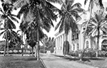 Entrance to the Whitehall Hotel after 1925, Palm Beach Florida