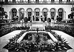Fountain in the Courtyard by the Patio at The Breakers Hotel, Palm Beach, Florida, 192-