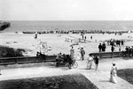 People Enjoying a Day at the Beach, Palm Beach, Florida, 1905
