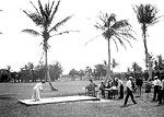 Golfers at the Number 1 Tee on Unidentified Course, Palm Beach, Florida, 1905