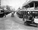 View of Clematis Street, West Palm Beach Florida, 1924