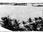 Construction of New Free Bridge Over Lake Worth, Palm Beach Florida, 1924