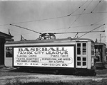 Street Car with Advertisment Tampa, 1931
